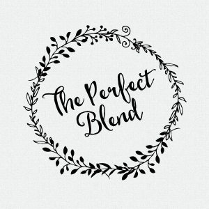 The Perfect Blend stamp is perfect for personalized wedding favors!  T218
