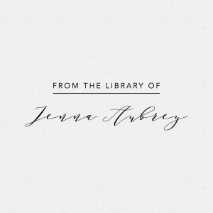 Personalized Libary Book Plate Stamp T396