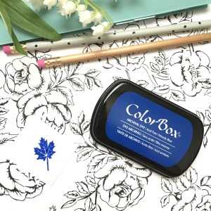 Colorbox Moody Blue Ink pad