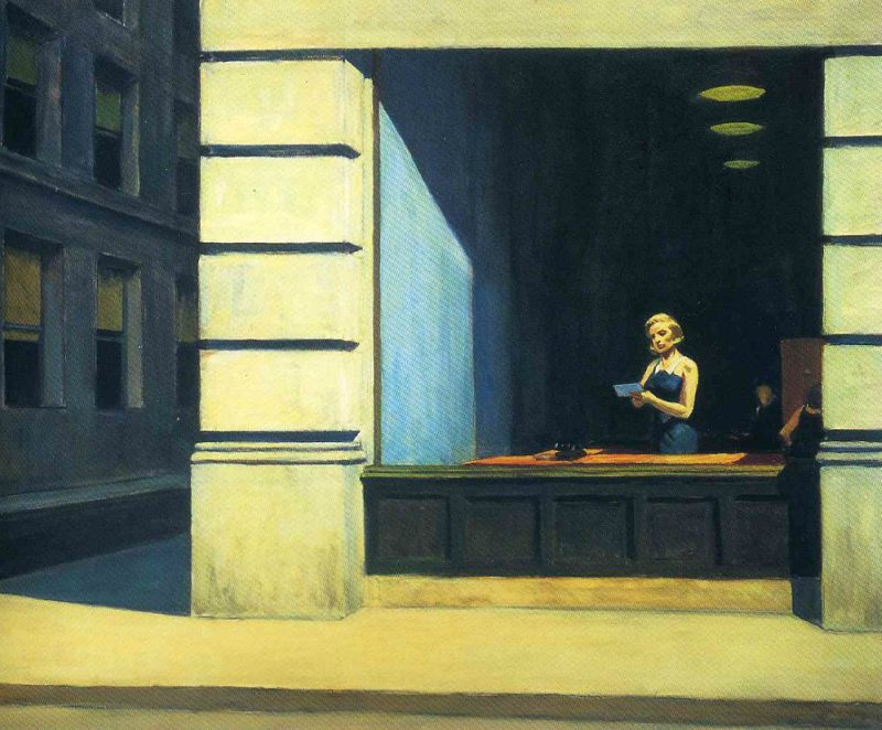 Edward-Hopper-new-york-office