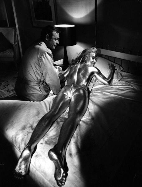 Shirley Eaton Goldfinger James Bond golden paint