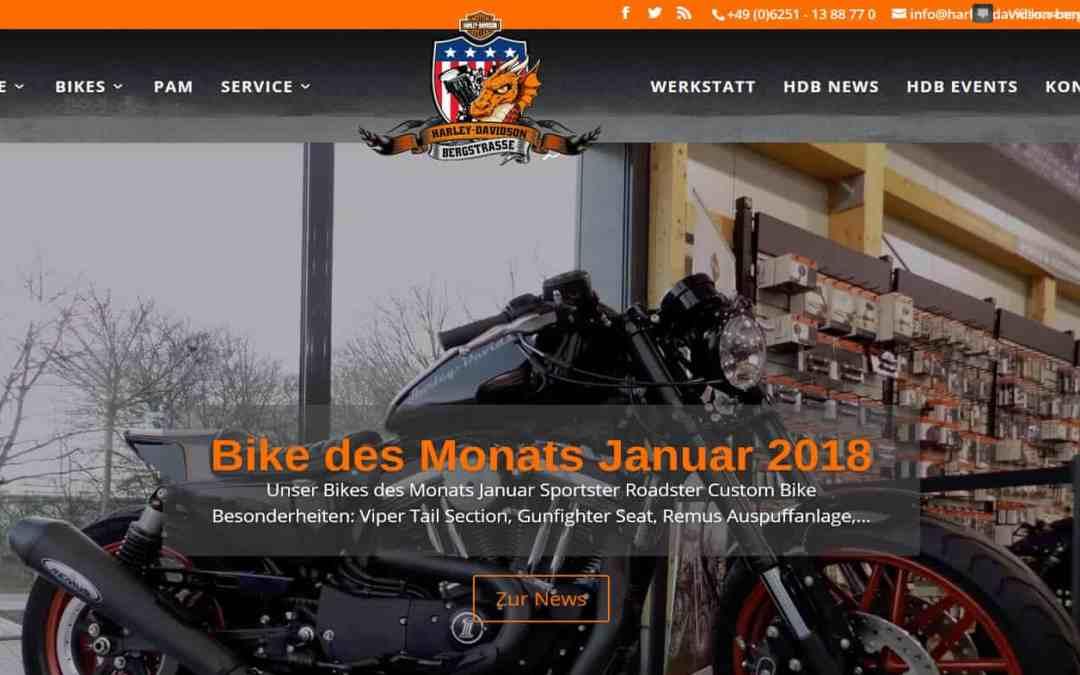 Harley-Davidson Bergstraße 2018