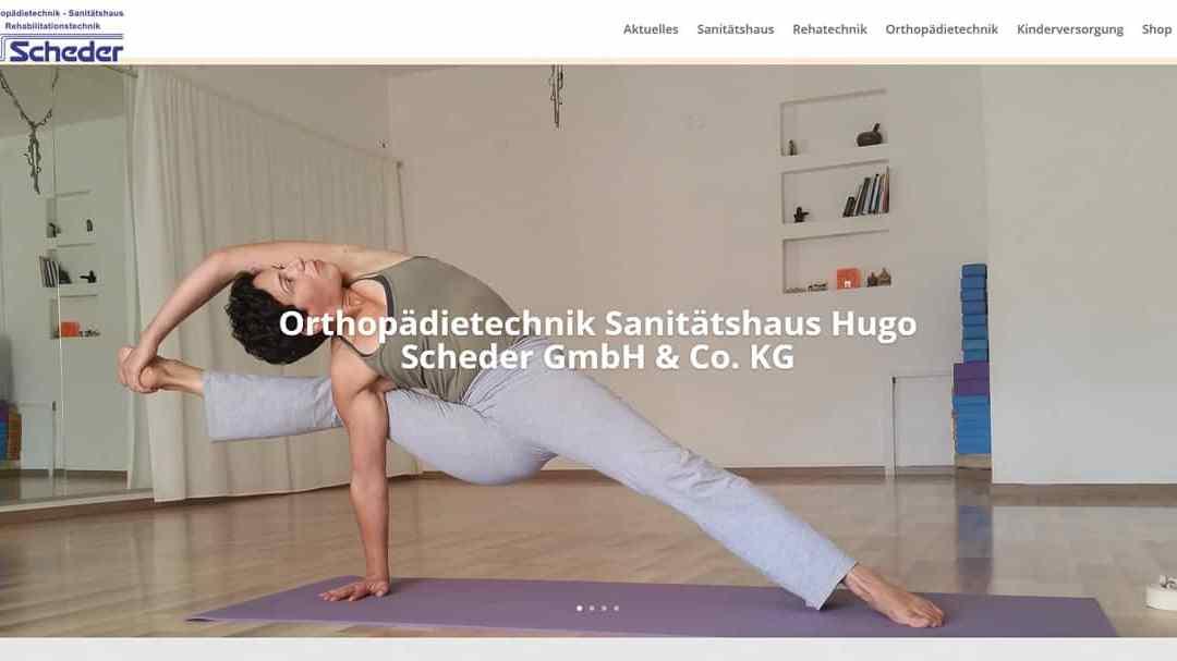 Orthopädietechnik Sanitätshaus Hugo Scheder GmbH & Co. KG