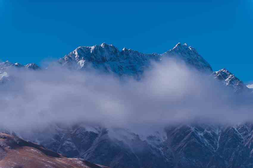 misty mountains remarkables cloud