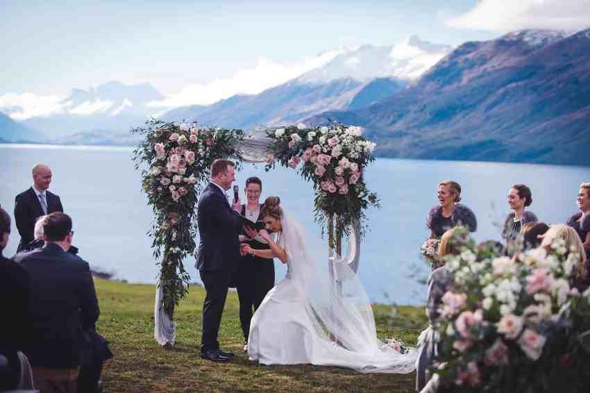 Evanna & Liam's Mount Nicholas Wedding Queenstown Farm wedding fallon photography