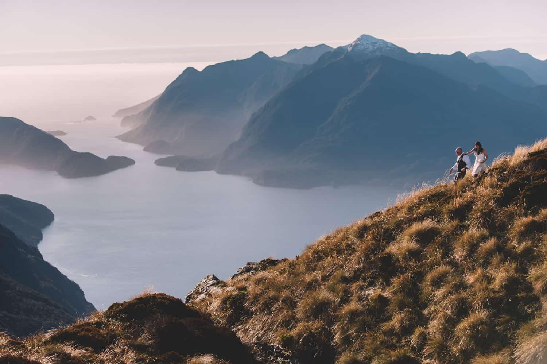 Fiordland Post-Wedding Heli Shoot