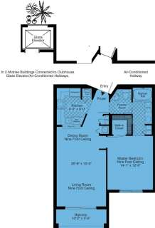 1 Bed / 1 Bath / 850 sq ft / Rent: Call for Details