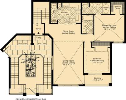 2 Bed / 2 Bath / 1,232 sq ft / Rent: Call for Details
