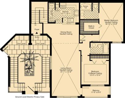 2 Bed / 2 Bath / 1,357 sq ft / Rent: Call for Details