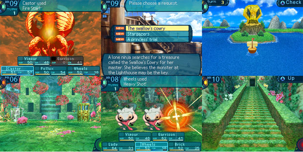 Screenshots of Etrian Odyssey 3 via Destructoid
