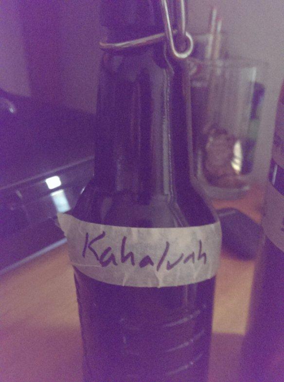 homemade Kahaluah