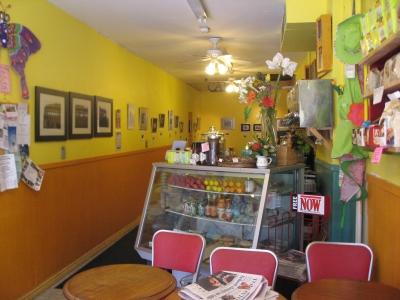 Lou's Coffee Bar Inside