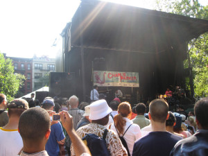 Charlie Parker Jazz Festial in East Village NYC