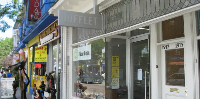 Dufflet desserts now in the beach