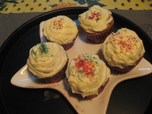 Xmas Cup Cakes