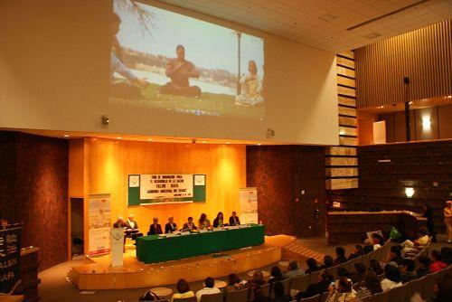 「法輪功與身心健康」論壇 在墨西哥國會舉行(圖)