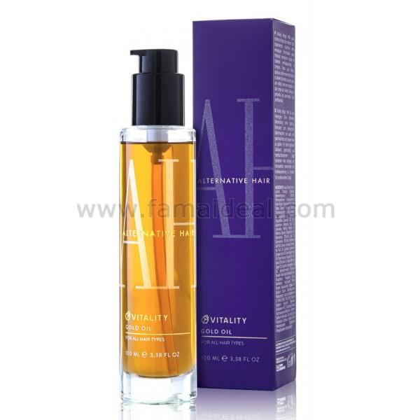 Alternative Hair Vitality Gold Oil 100ml