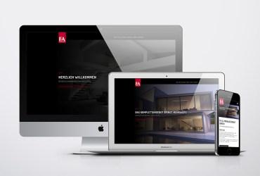 Neue responsive Webseite