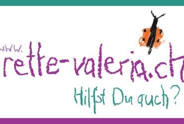 rette Valeria – Hilfst du auch?