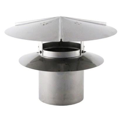 Universal Chimney Cap - Stainless Steel-0