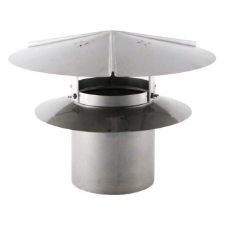 Universal Chimney Cap - Stainless Steel-0