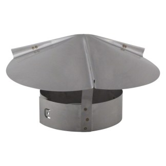 Cone Top Chimney Cap - Stainless Steel-0