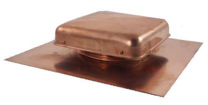 Copper Roof Vent - 38 sq. in. Net Free Area-0