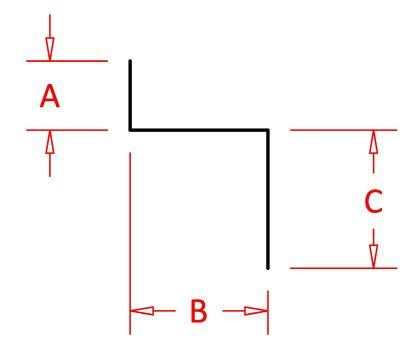"Siding Z-Bar 3/8"" x 3/8"" x 3/4""-0"