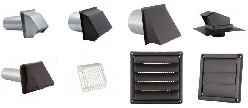 Different Types of Wall Vents
