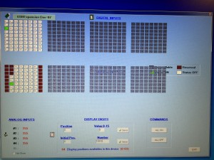 Opencockpits SIOC software input/outputs screen