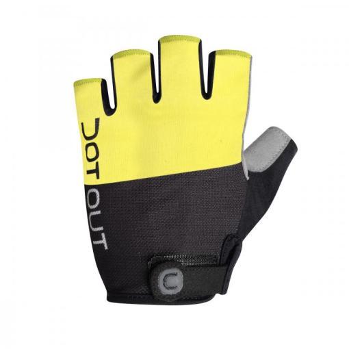 PIN guantes verano Amarillo-Negro