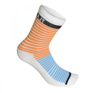 STRIPE calcetines medios Naranja-Azul