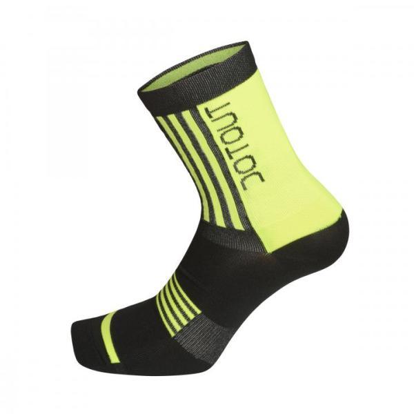 PREMIER calcetines medios Negro-Amarillo