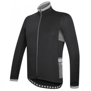 combat chaqueta invierno negro-negro