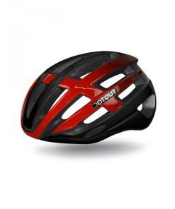 targa-13 - Rojo brillo-Negro brillo