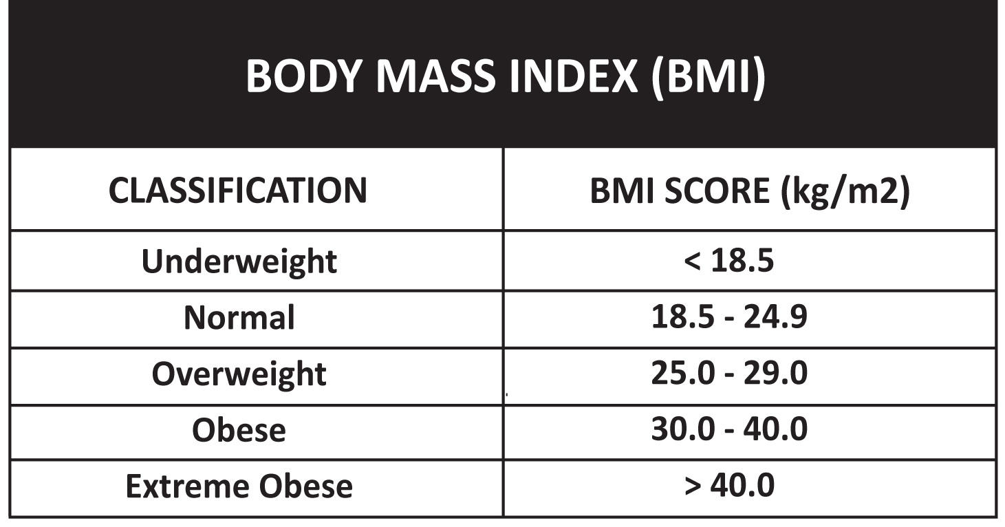 BMI Calculator   Fametrics Fitness