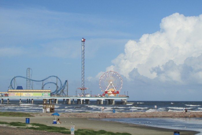 Texas Galveston viaggio USA