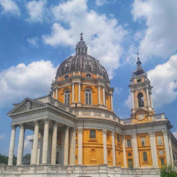 Basilica di Superga Torino viaggio con bambini