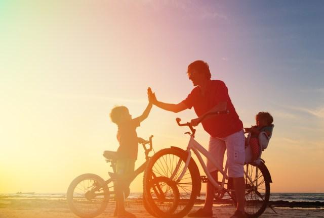 Naučte svoje dieťa jazdiť na bicykli rýchlo abez stresu