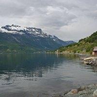 Unterwegs nach Odda immer entland am Fjord