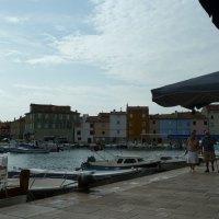 Der Hafen von Cres Stadt