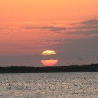 Sonnenuntergang über dem Meer - Ohne Worte