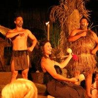 Die Maori der Mitai Familie in Aktion