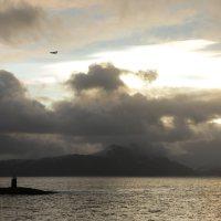 Tolles Wolkenspiel irgendwo nördlich des Polarkreises