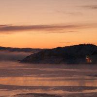 Ein herrlicher Tagesbeginn in Kirkenes