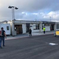 Svolvaer International Airport in voller Breite