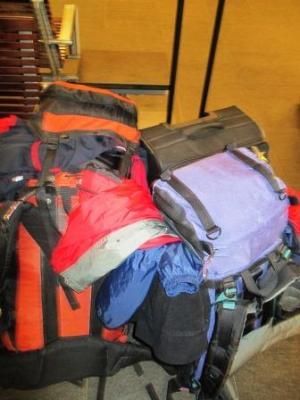 Reisegepäck - wie immer zu viel