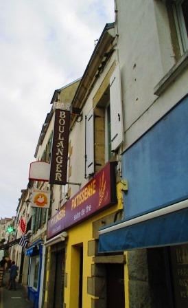 Bäckerei. Aus avantgardistischem Winkel fotografiert.