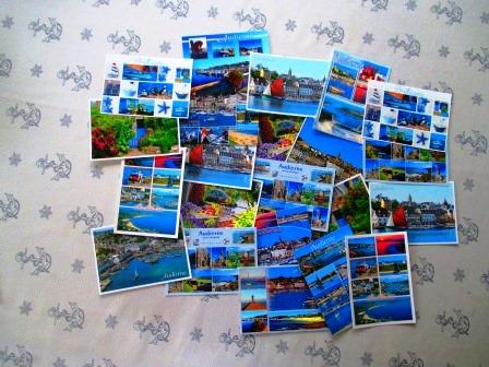 Postkarten. Für jeden etwas dabei.
