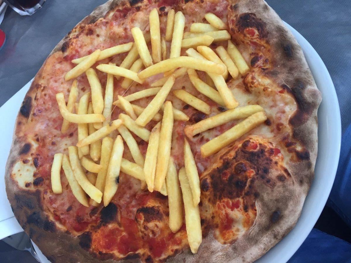 Pommes-Pizza